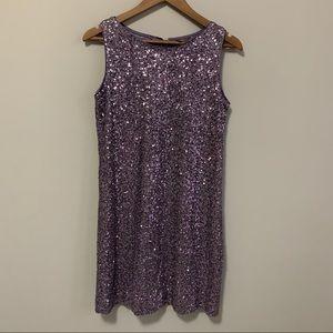 Grain de Malice Purple Sequin Dress